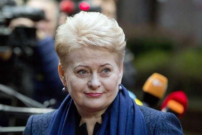 Даля Грибаускайте, президент Литви