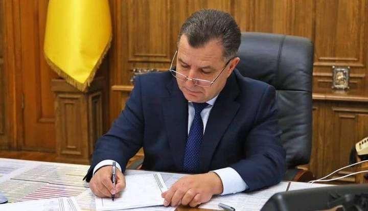 Міністр оборони Полторак подав Зеленському заяву про відставку (фото)