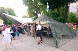Фото: - «Ветеранський намет» на «Книжковому арсеналі»