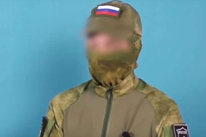 Молодик на відео представляється матросом контрактної служби — Путін готується до Майдану? Військових тестують на готовність до масових розстрілів