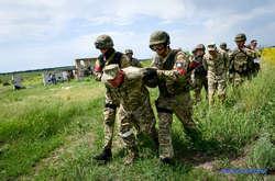 Фото: — <p>Тактико-спеціальні антитерористичні навчання підвищеного рівня під Запоріжжям</p>