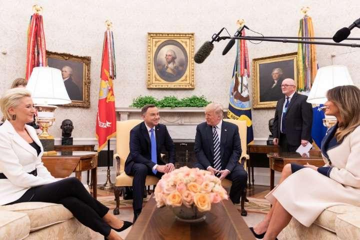 Дуда і Трамп підписали декларацію про розширення військового континген