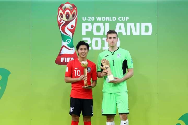 Українець отримав «золоту рукавичку» найкращого воротаря мундіалю