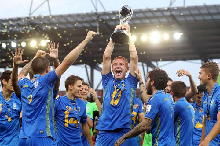 Україна - чемпіон! Як нагороджували нових чемпіонів світу (відео)