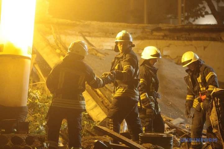Стали відомі подробиці вибуху в центрі Києва (фото)