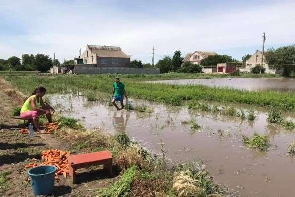 На Херсонщині від води потерпають майже 80 домогосподарств