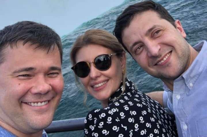 Зеленський з дружиною і Богданом поїхали помилуватися Ніагарським водоспадом