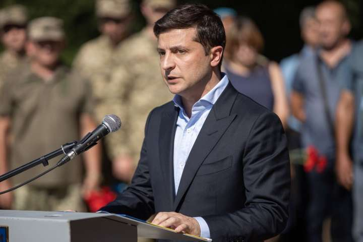 Зеленський на Донбасі, 5 липня — Зеленський під час представлення нового голови Донецької ОДА перейшов на російську мову