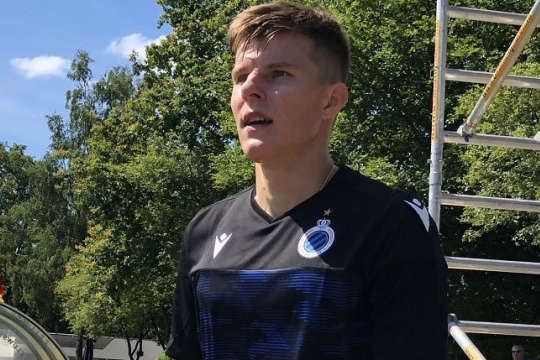 Едуард Соболь уже приміряв футболку в чорно-синіх кольорах — Український футболіст від душі розхвалив себе в першому інтерв'ю в статусі гравця «Брюґґе»