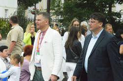 Фото: — Ігор Гоцул та Ігор Жданов безмежно вдячні третьому Ігореві. Якого на церемонії не було
