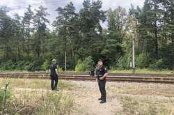 Фото: — Правоохоронці огородили територію і проводили слідчо-оперативні дії