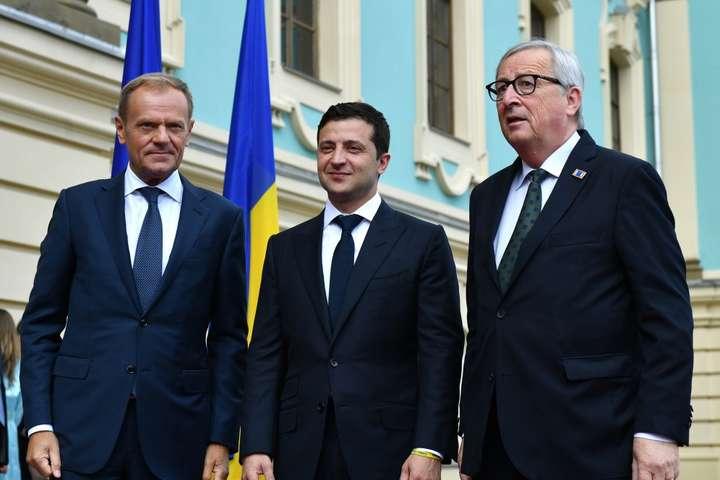 Опубліковано спільну заяву за підсумками саміту Україна – ЄС