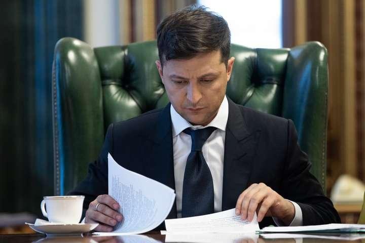 Зеленський звільнив голів трьох райадміністрацій Києва