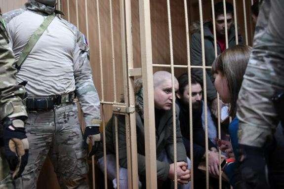 У РФ висунули остаточне обвинувачення всім 24 українським полоненим морякам