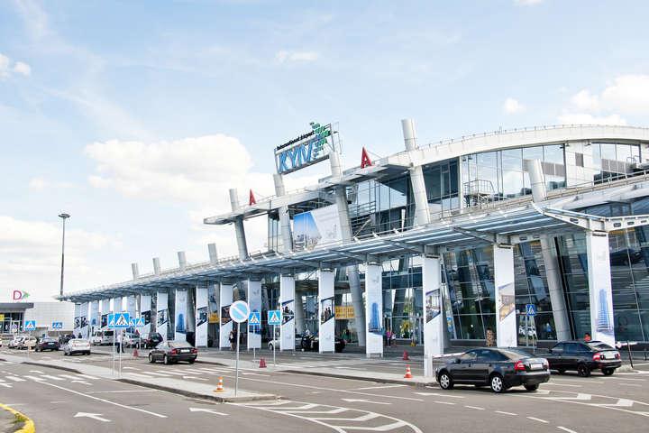 За пів року аеропорт «Київ» обслужив 1,3 млн пасажирів