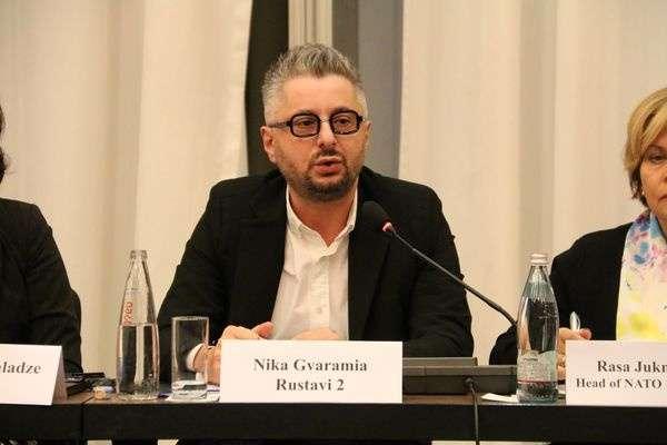 Гендиректор телеканалу «Руставі 2» Ніколоз Гварамія — Гендиректор «Руставі 2» нецензурно відреагував на рішення Путіна щодо грузинського вина