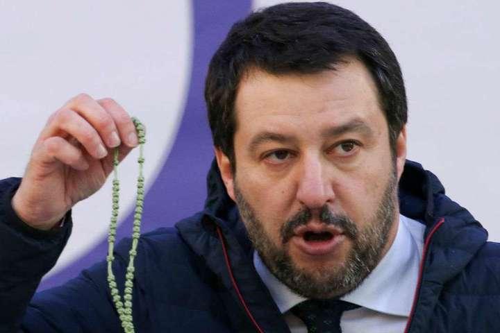 Лідерпартії «Ліга Півночі»Маттео Сальвіні — В Італії розпочали розслідування через фінансування РФ партії Сальвіні