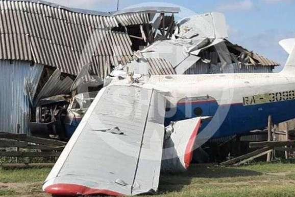 <span>Літак впав на будинок з людьми</span> — Літак у Чечні рухнув на житловий будинок