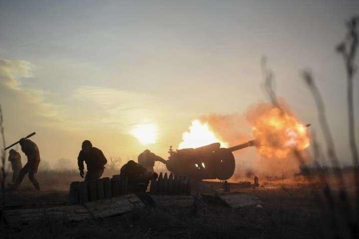 Під Горлівкою 53-тя бригада ЗСУ рознесла позиції бойовиків (відео)