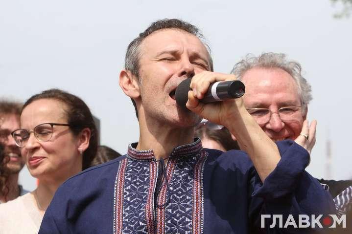 Святослав Вакарчук — Вакарчук заявив, що готовий іти в уряд