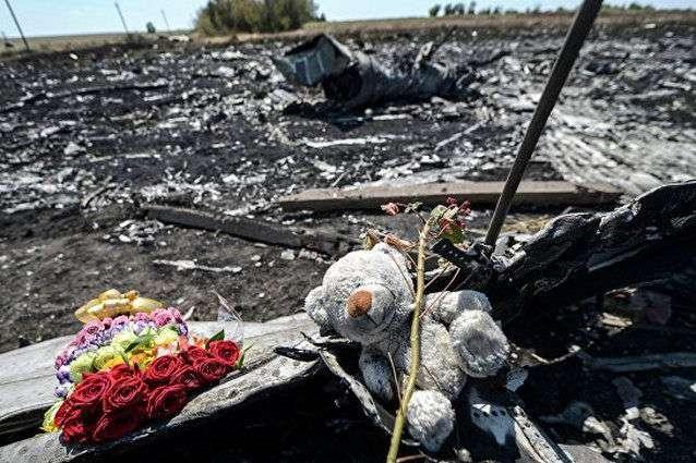 Рейс MH17, що вилетів з Амстердама в Куала-Лумпур, був збитий біля Тореза Донецької області, приблизно в 40 кілометрах від російського кордону 17 липня 2014 року — Слідство використовує всі механізми для притягнення РФ до відповідальності щодо МН17 — Зеркаль