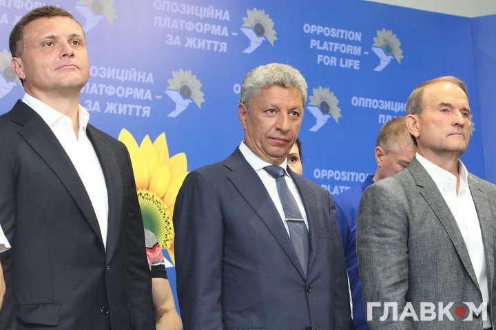 «Нестерпне дитя» Медведчука. Як «колона Путіна» святкувала перемогу (фото)