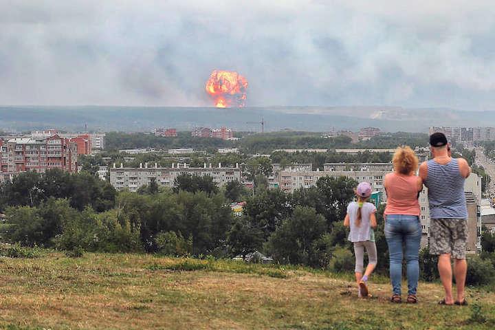 Вибухи на військовому складі в РФ: кількість постраждалих зросла до дев'яти