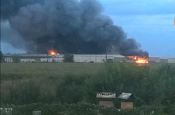 Фото: — Пожежа на птахофабриці «Ясенсвіт»