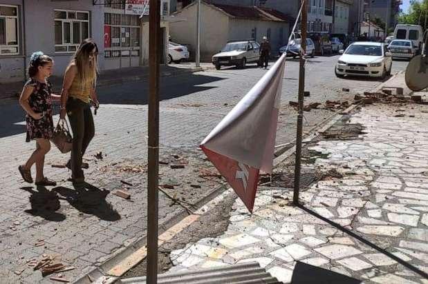 У Туреччині стався6,5-бальний землетрус — У Туреччині землетрус пошкодив близько тисячі будинків