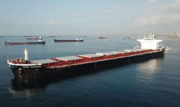 У Мармуровому морі 13 серпня зіткнулися два судна — Біля Стамбула зіткнулися танкер і суховантаж, який прямував до України