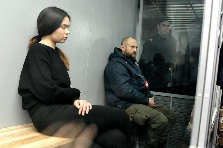 <span>Олена Зайцева та Геннадій Дронов у суді</span> — Апеляційний суд залишив у силі вирок Зайцевій та Дронову