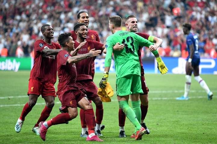 Відбитий іспанським воротарем Адріаном пенальті від Теммі Абрагама приніс«Ліверпулеві» Суперкубок