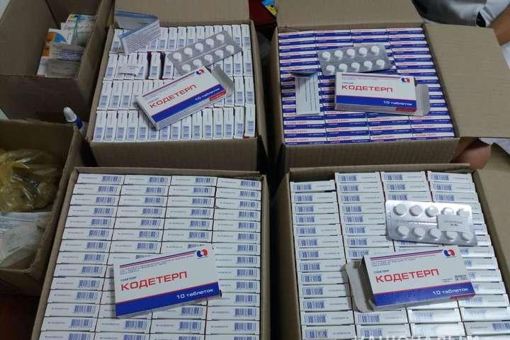 В Сумах правоохоронці припинили незаконний збут нарковмісних ліків