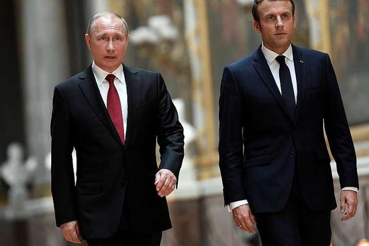 Зустріч президентів пройде на півдні Франції, в літній резиденції голови французької держави Форт де Брегансон