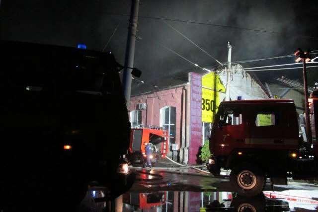 <p>На час пожежі в готелі знаходилось близько 200 людей Об этом сообщает <a href=