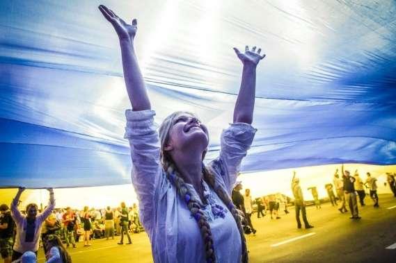 Як Київ відзначатиме День Прапора і річницю незалежності України (програма)