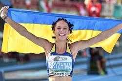 Фото: — Анастасія Бризгіна та інші провідні атлети вітають зі святом