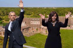 Фото: — <p>Барак і Мішель Обама закрок від оформлення угоди зкупівлі особняка вмальовничій місцевості</p>