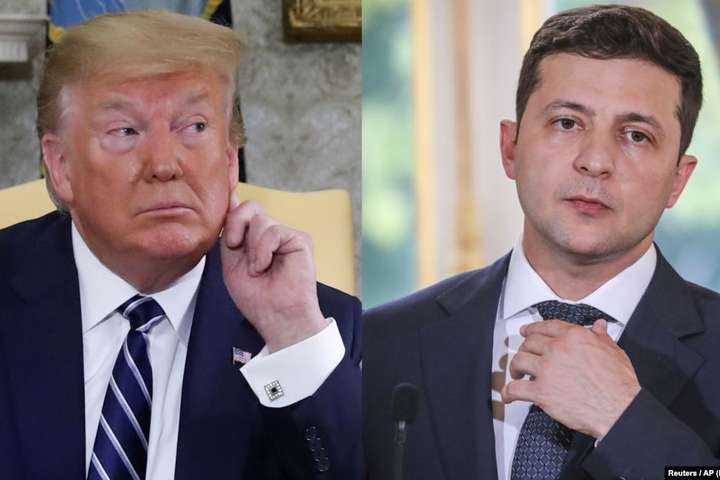 Дональд Трамп и Владимир Зеленский&nbsp- Трамп не сможет встретиться с Зеленским в Польше