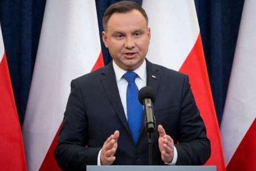 Президент Польщі Анджей Дуда — Дуда не згоден з планом Трампа повернути Росію в G7