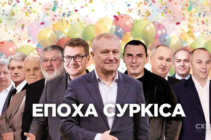 <p>Знімальна група зафіксувала серед гостей Суркіса представників теперішньої та минулої влади</p> - Баканов, Шефір та три експрезиденти: ЗМІ показали, хто гуляв на ювілеї Суркіса