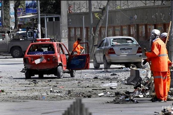 Вибух прогримів<span>поблизу ринку Компані</span> — У Кабулі стався черговий теракт, є поранені