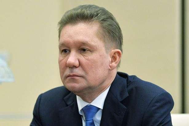 Глава «Газпрому» Олексій Міллер