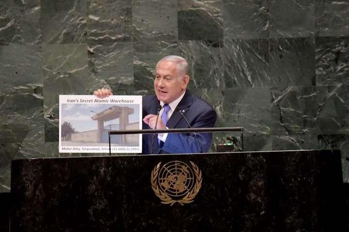 Прем'єр Ізраїлю заявив про секретні розробки ядерної зброї Ірану — Прем'єр Ізраїлю заявив про секретні розробки ядерної зброї Ірану