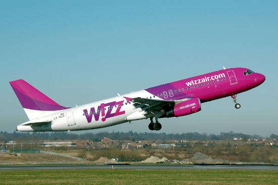 Wizz Air запустить нові рейси до Будапешта
