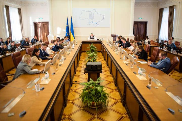 Кабмін проведе засідання 11 вересня