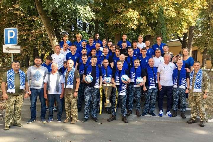Тренер Михайличенко – звільненим морякам: Вдячний за вашу мужність і н