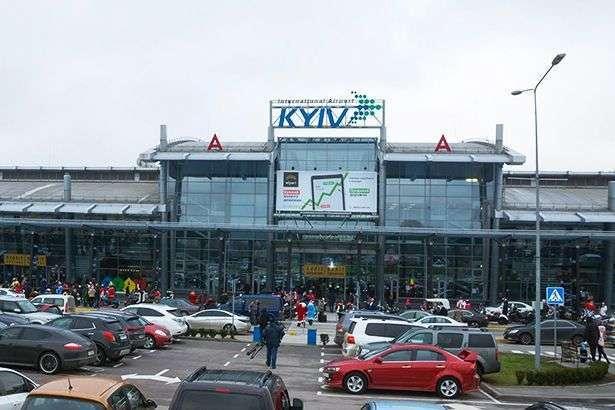 Аеропорт «Київ» не працював 10 днів