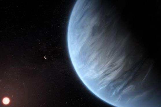 Ватмосфере суперземли впервый раз обнаружили водяной пар