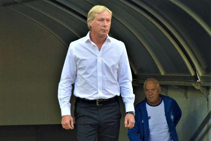 У Михайличенка найгірший тренерський старт в історії «Динамо»